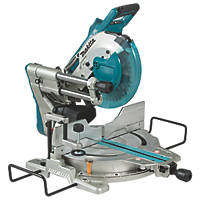 Makita DLS110Z 260mm Twin 18V Li-Ion LXT Brushless Cordless Single-Bevel Sliding Compound Mitre Saw  - Bare