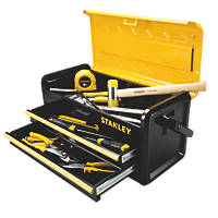 Stanley 2-Drawer Metal Tool Box 19""