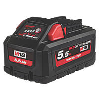 Milwaukee M18 HB5.5 18V 5.5Ah Li-Ion RedLithium High Output Battery