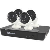Swann SWNVK-885804-UK 8-Channel NVR CCTV Kit & 4 Cameras