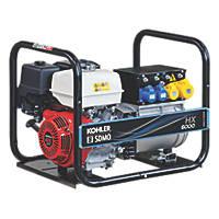 SDMO HX6000-2 5500W Generator 115 / 230V