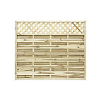 Grange Ledbury Decorative Fence Panels 1.8 x 1.5m 5 Pack