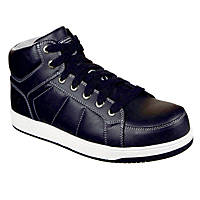 Skechers Watab   Safety Trainers Black Size 8