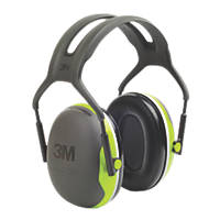 3M Peltor X4A Ear Defenders Black / Green 33dB SNR