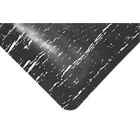 COBA Europe Marble Top Anti-Fatigue Floor Mat Black 1.5 x 0.9m