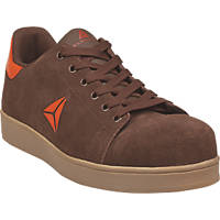 Delta Plus Smash   Safety Trainers Brown Size 9