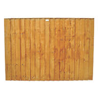 Forest  Feather Edge  Fence Panels 6 x 4' Pack of 8
