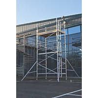 Lyte Helix Double Depth Aluminium Industrial Tower 4.7m