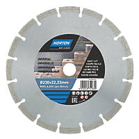 Norton  Masonry/Stone Segmented Diamond Cutting Blade 230 x 22.23mm