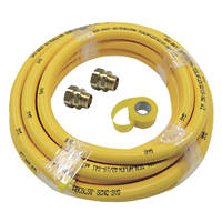 Teslaflex Gas Fitting Starter Kit 25.2mm 10m DN28 4 Pieces
