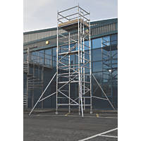 Lyte Helix Double Depth Aluminium Industrial Tower 6.2m