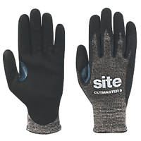 Site KF540 Cutmaster Gloves Black Large