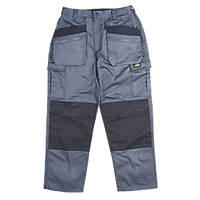 """Site Greyhound Work Trousers Grey 38"""" W 32"""" L"""
