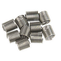 Helicoil Thread Repair Inserts M8 x 1.0mm 10 Pack