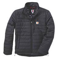"Carhartt Gilliam Jacket Black Large 54"" Chest"