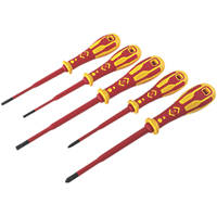 C.K Dextro Mixed  VDE Slim Screwdriver Set 5 Pieces