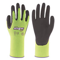Towa ActivGrip Lite Cut-Resistant Gloves Black / Yellow Large