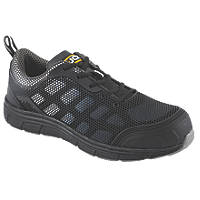 JCB Cagelow/B   Safety Trainers Black Size 8