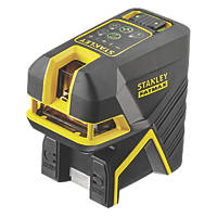 Stanley FatMax FMHT1-77442 Green Beam Cross Line and 5-Spot Laser Level