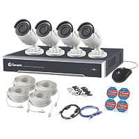 Swann SWNVK-880004-UK 8-Channel 4K CCTV NVR Kit with 4 Cameras