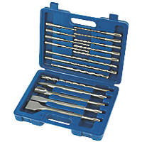 SDS Plus Shank Combination Drill Bit Set 17 Pieces