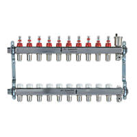 JG Speedfit 10-Port Manifold Set Chrome