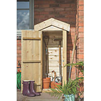 "Forest 2'1"" x 1'8"" (Nominal) Apex Shiplap Timber Garden Store"