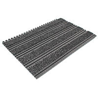 COBA Europe PT010101 Premier Track Interlocking Entrance Tiles Black / Anthracite 440mm x 290mm 2 Pack