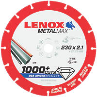 Lenox  Metal Diamond Cutting Disc 230 x 22.2mm