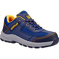 CAT Elmore Low   Safety Trainers Navy Size 6