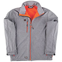 "Herock Echo Softshell Jacket Grey X Large 50"" Chest"