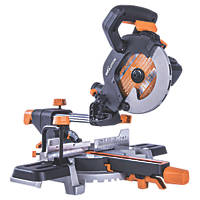 Evolution R185SMS 185mm  Electric Single-Bevel Sliding Mitre Saw 110V