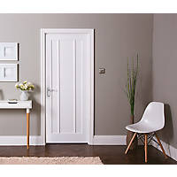 Jeld-Wen Worcester Primed  Wooden Panelled Internal Door 1981 x 762mm