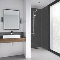 Splashwall Laminate Panel Matt Charcoal 900 x 2440 x 11mm