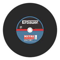 """Erbauer Cutting Discs 14"""" (355mm) x 3.5 x 25.4mm 2 Pack"""