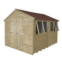 Forest 8' x 10' (Nominal) Apex Tongue & Groove Timber Shed