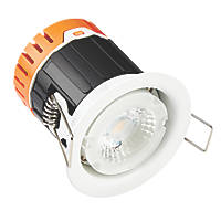 Enlite E5 Fixed Fire Rated LED Downlight Without Bezel 420lm 4.5W 220-240V