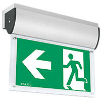 Enlite Maintained or Non-Maintained LED Emergency Wall-Mounted Exit Sign without Legend 7W