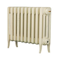 Arroll  4-Column Cast Iron Radiator 460 x 634mm Cream