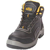 Site Froswick   Safety Boots Black Size 11