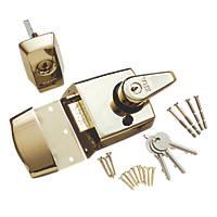 ERA 1930-31 Double-Locking Nightlatch Brass 60mm Backset