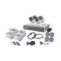 Swann SWDVK-845754-UK 8-Channel Security System & 4 Cameras 5 Pieces