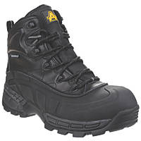 Amblers 430 Orca   Safety Boots Black Size 8