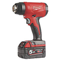 Milwaukee M18 BHG-502C 18V 5.0Ah Li-Ion RedLithium  Cordless Heat Gun