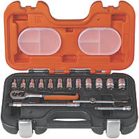 "Bahco ¼"" Socket Set 16 Pieces"