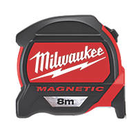 Milwaukee 48227308  8m Magnetic Tape Measure