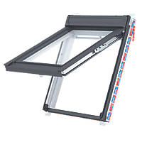 Keylite  T06 Manual Top-Hung White Painted Timber Roof Window Clear 780 x 1400mm
