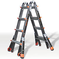 Little Giant Dark Horse 4-Section Fibreglass Multipurpose Ladder  4.2m