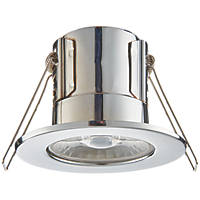 LAP  Fixed  Fire Rated LED Downlight Chrome 500lm 4W 240V