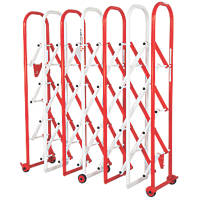 Armorgard IG6 Heavy Duty Expandable Barrier Red / White